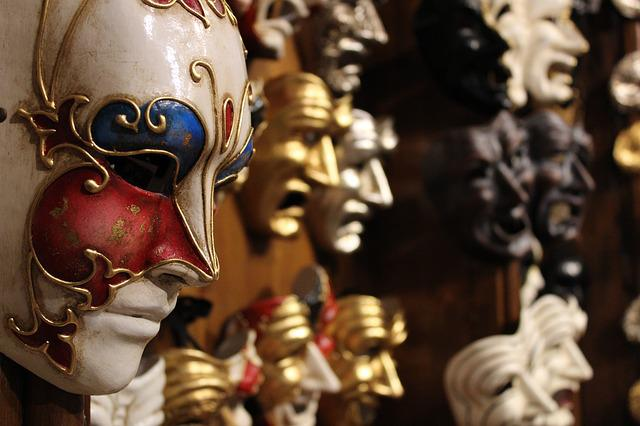 Venice, Masks, Carnival, Costume, Mask, Disguise