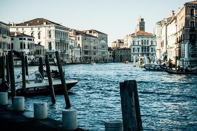Italy, Venice, Channel, Historically, Gondola, Lagoon
