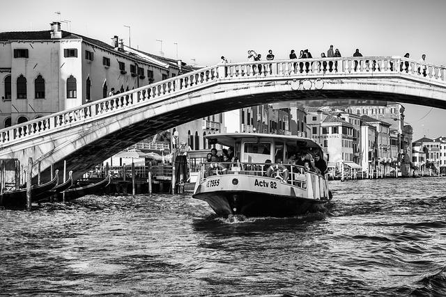 Italy, Venice, Channel, Historically, Gondola, Boats