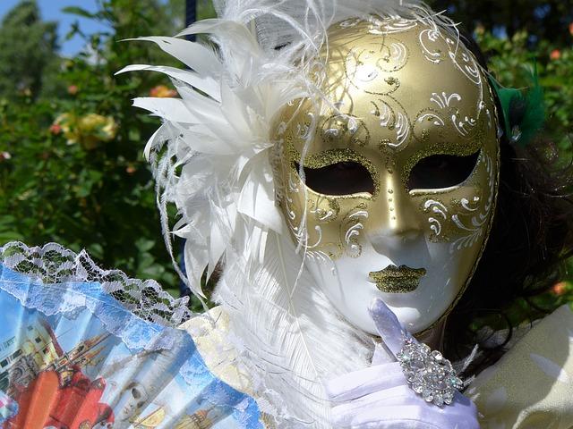 Mask Of Venice, Carnival Of Venice, Venice, Masks