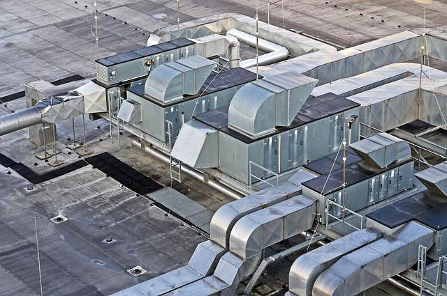 Hall Roof, Ventilation, Air Conditioning