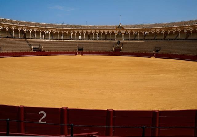 Bullring, Seville, Spain, Sports, Stadium, Venue