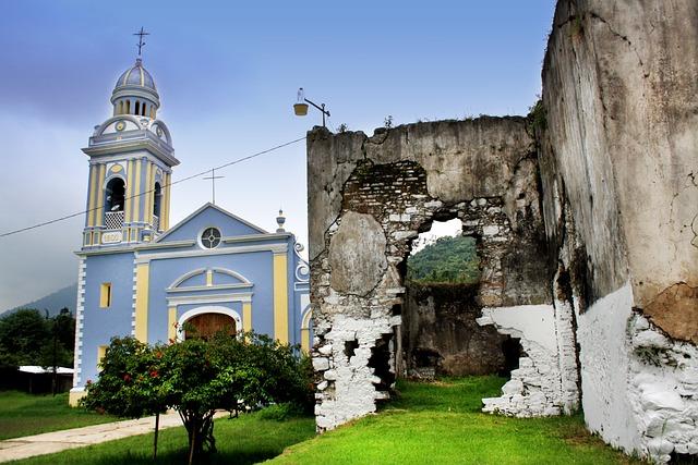 Church, Santa Lucia, Veracruz, Mexico