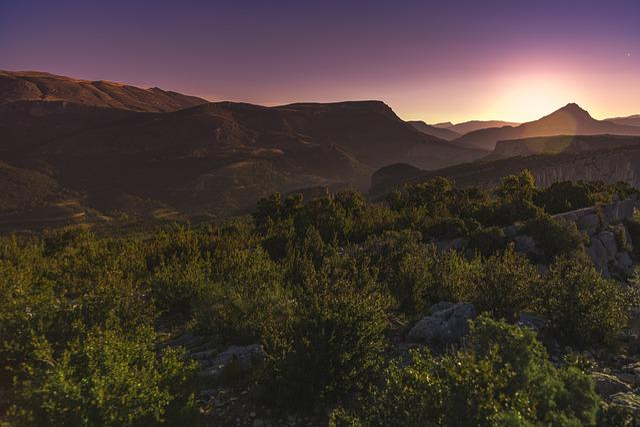 Sunset, Verdon, Mountain, Provence, Gorges Du Verdon