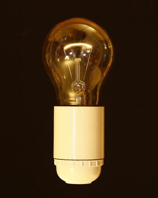 Pear, Light Bulb, Version, Lamp, Shining, Energy