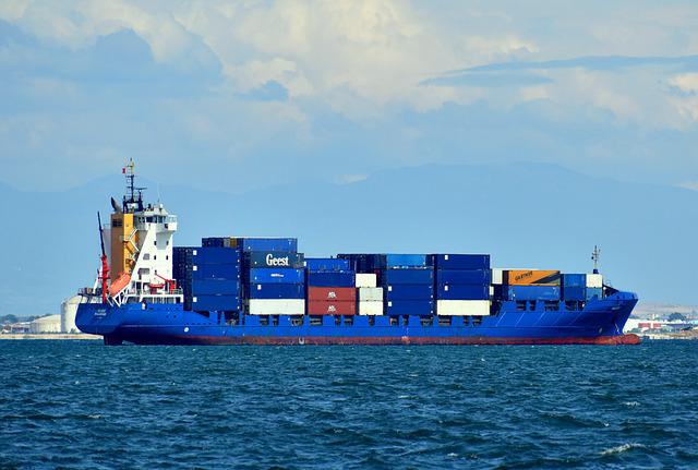 Ship, Cargo, Vessel, Container, Industry, Transport