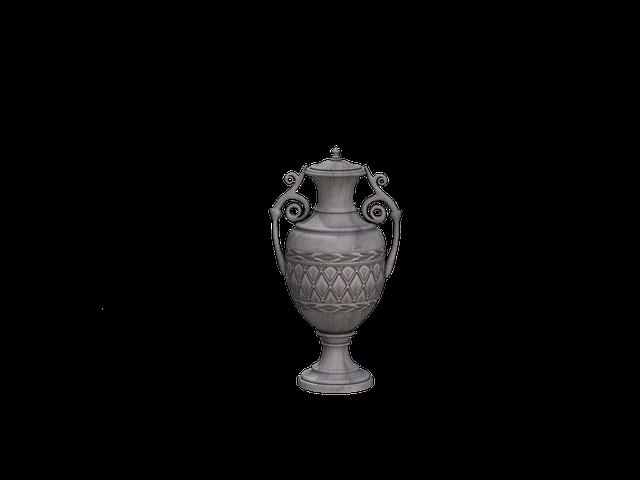 Vase, Deco, Decoration, Vessel, Digital Art, Isolated