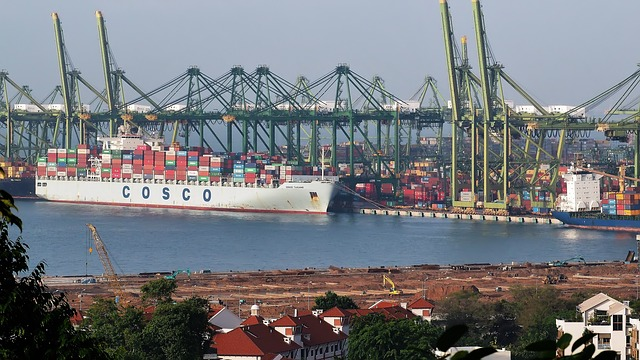 Port, Vessel, Ship, Industry, Cargo, Shipping