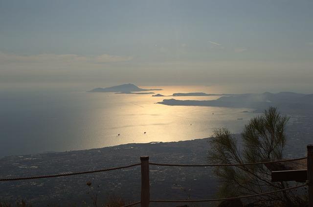 Naples, Bay, Mediteranea, Vesuvius, Vesuvio, Sun, Soil