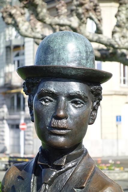 Charly Chaplin, Chaplin, Vevey, Museum, Park, Sculpture