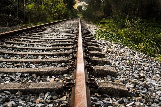 Rail, Railway, Train, Sleepers, Via
