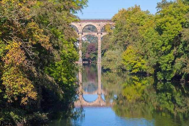 Bietigheim-bissingen, Bietigheim, Viaduct, Bridge, Enz