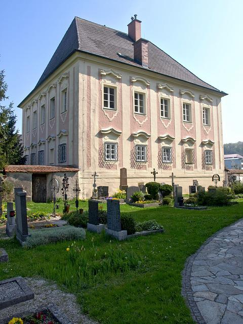 Haidershofen, Parsonage, Vicarage, House, Building