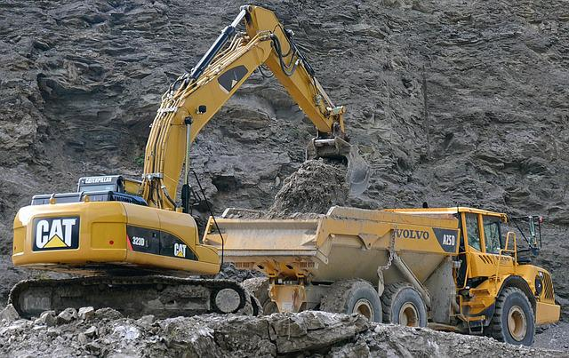 Excavators, Truck, Auto, Vice, Commercial Vehicle