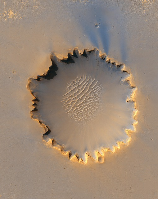 Mars, Planet, Crater, Victoria Crater, Impact, Hole