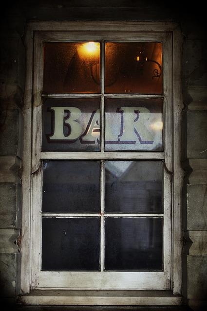 Tavern, Bar, Western, Cowboy, Window, Saloon, Victorian