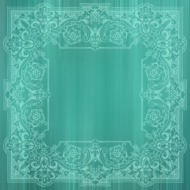 Background, List, Victorian, Green, Vintage, Old