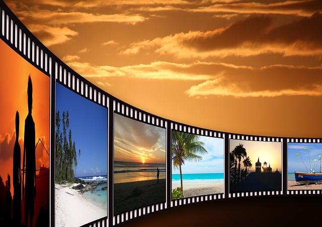 Filmstrip, Cinema Strip, Video Film, Analog, Cinema