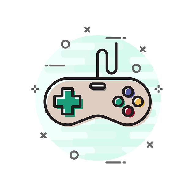 Joystick, Icon, Game, Sign, Flat, Symbol, Button, Video