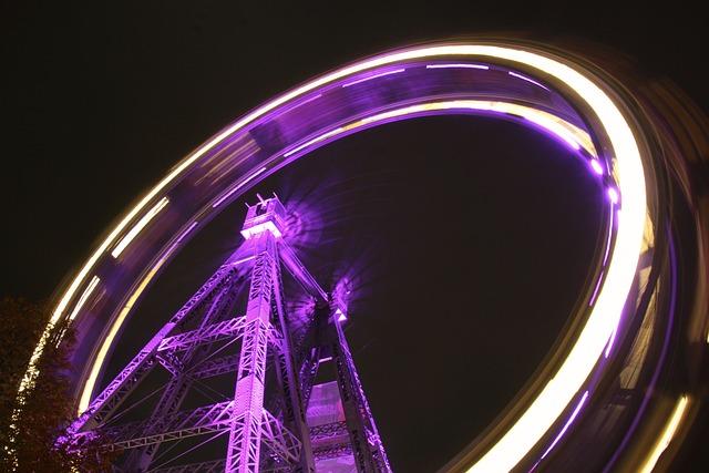 Prater, Ferris Wheel, Vienna, Amusement Park, Austria