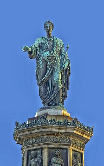 Emperor Francis Ii, Vienna, Austria, Statue, Sculpture