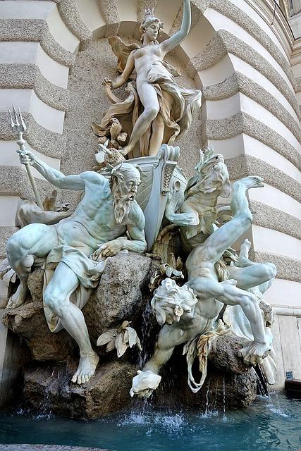 Vienna, Fountain, Austria