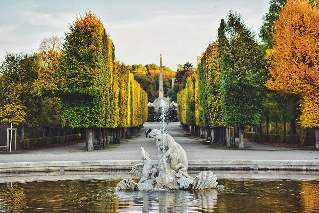 Vienna, Park, Wien, Schloss, Palace, Zoo, Water, Nature