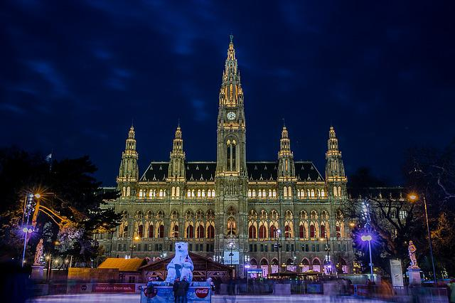Town Hall, Vienna, Town Hall Square, Skating Space