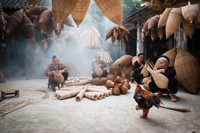 Women, Vietnam, Asia, Hung Yen, Handmade, Traditional