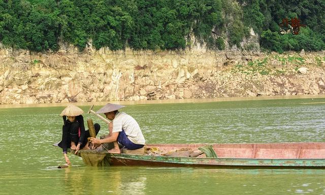 Vietnam, Dienbien, Landscape