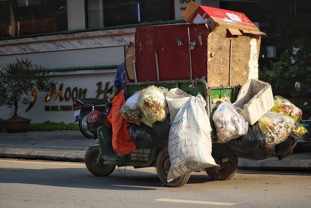 Vietnam, Travel, North Vietnam, Sapa, Garbage Disposal