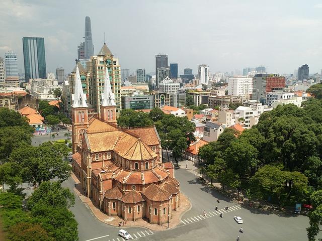 Saigon, Street, Vietnam, Asia, Vietnamese, Traditional