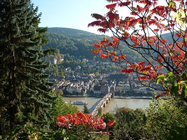 Heidelberg, View, Landscape, Germany, Landmark, City