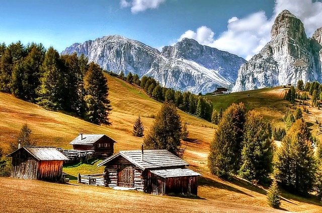 Dolomites, Mountains, Italy, South Tyrol, View