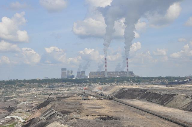 Power Station, Mine, Brown Coal, Zwałowisko, Heap, View