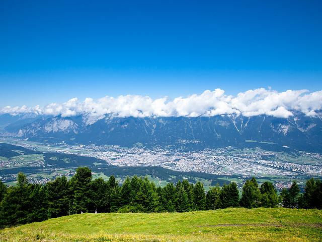 Innsbruck, Mountains, Landscape, View Of The Valley