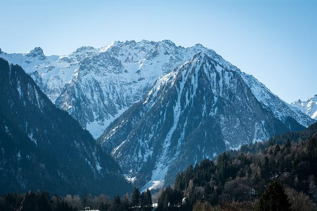 Landscape, Mountains, Snow, Outlook, View