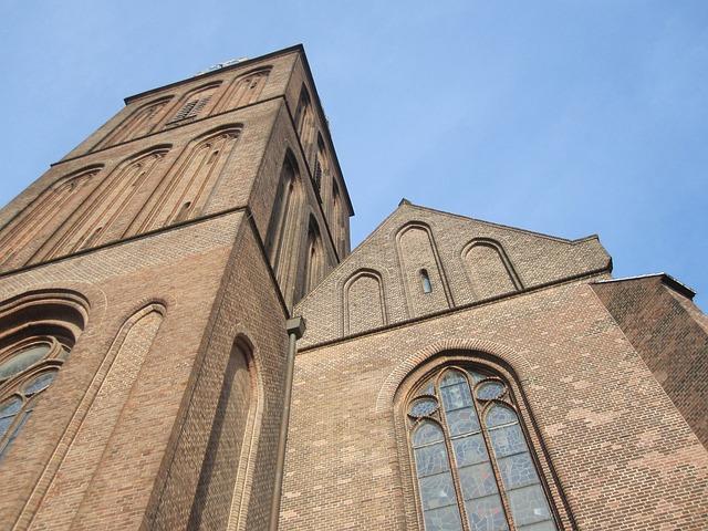 Basilica, Air, View, Blue, Overijssel, Hengelo