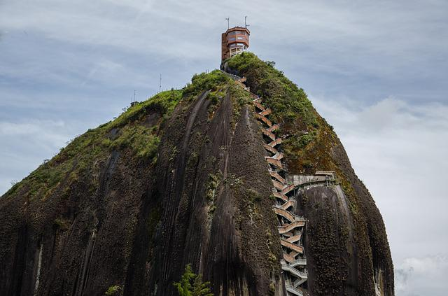 Colombia, Guatape, Tourism, Places Of Interest, View