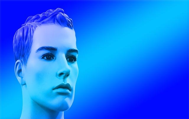 Head, Face, Statue, View, Portrait, Display Dummy, Man