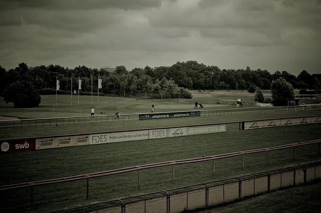 Racecourse, Golf Course, Bremen, Rush, Golf, View