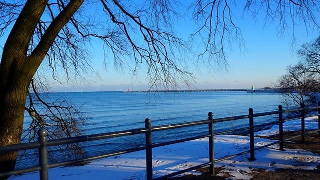 Landscape, View, Place, Sea, The Baltic Sea, Winter