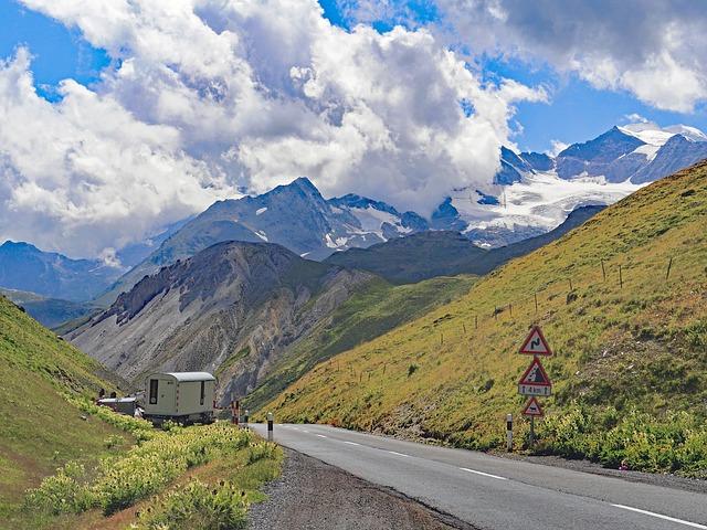 Forcola Di Livignio, View To Bernina Group