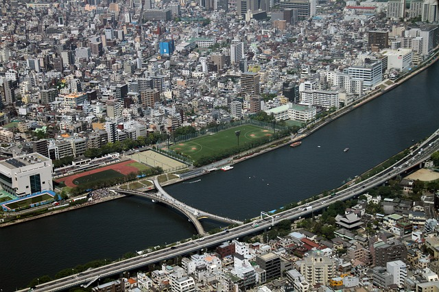 View, Tokyo, Japan, Tower, Skytree, Landmark, Urban