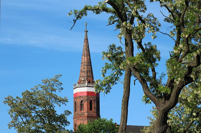 Tower, Church, View, Architecture, City, Building