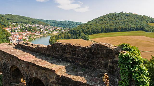 Landscape, Burgruine, Masonry, Viewpoint, View