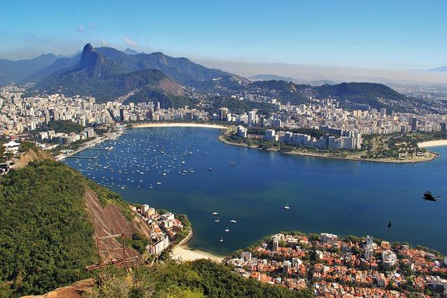Views Of The Sugar Loaf, Views Of Corcovado, Rio