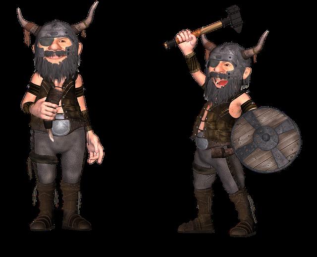 Viking, Scandinavian, Character, Historical, Battle