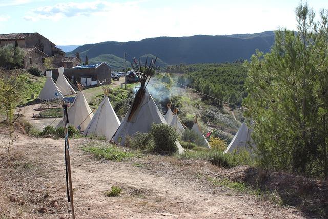 Tipi, Camp, Village