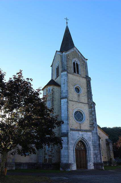 Church, Village, France, Christian, Bell Tower